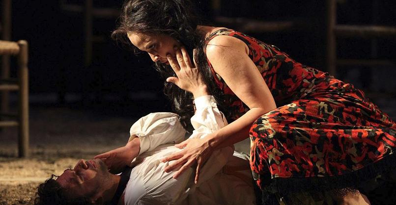 Carmen Jonas Kaufmann (Don José), Elīna Garanča (Carmen)