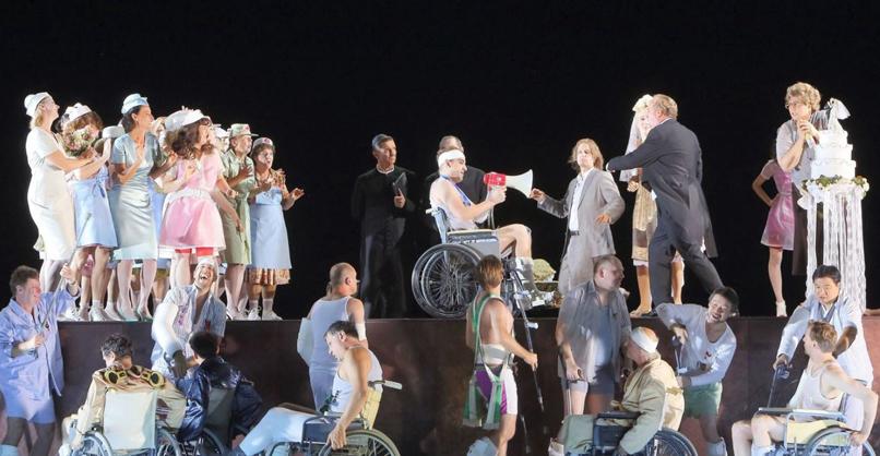 Die schweigsame Frau Ensemble und Chor der Bayerischen Staatsoper