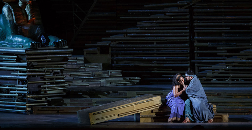 Aida - Kristin Lewis ADAMES -Yusif Eyvazov - 2018 © DR Festival Arena di Verona